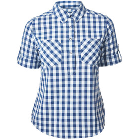 Berghaus Exp***** 2.0 Camisa Manga Corta Mujer, sapphire small check